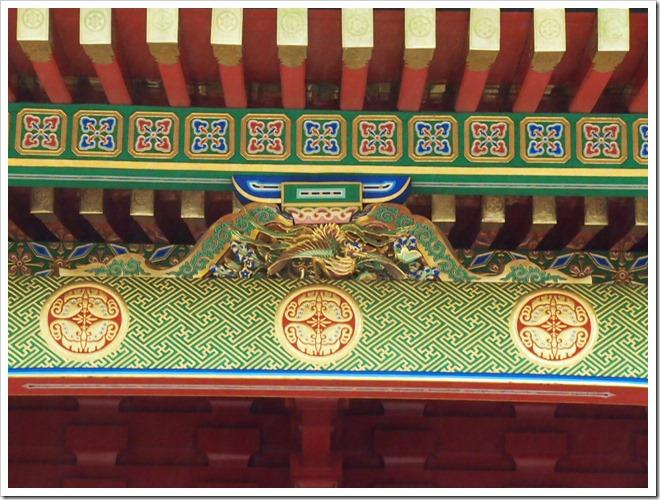 東照宮 龍の彫刻