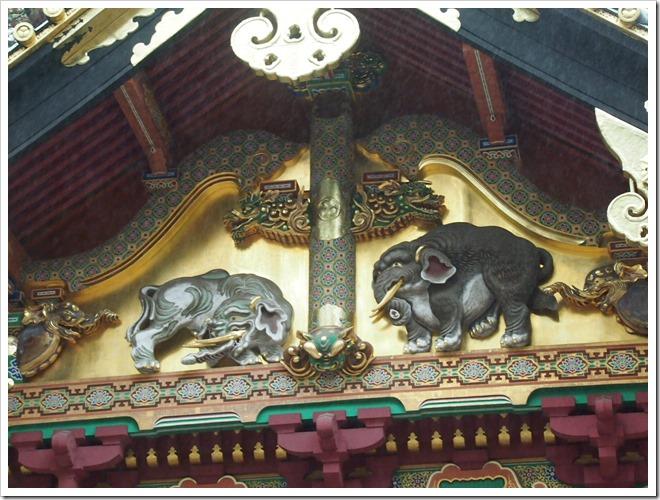 東照宮 象の彫刻