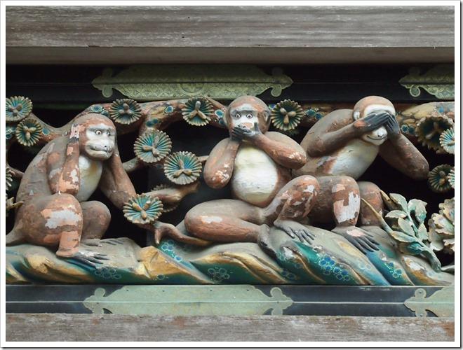 東照宮 三猿