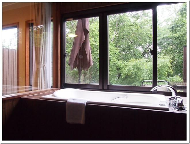 なごみ館のバスルーム
