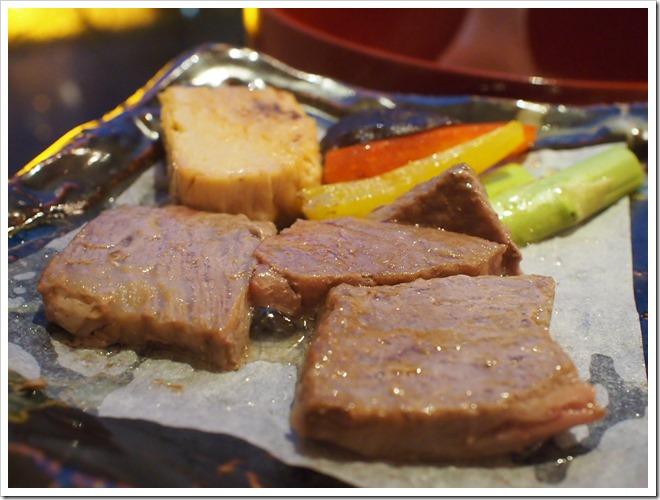 黒毛和牛と湯波のステーキ