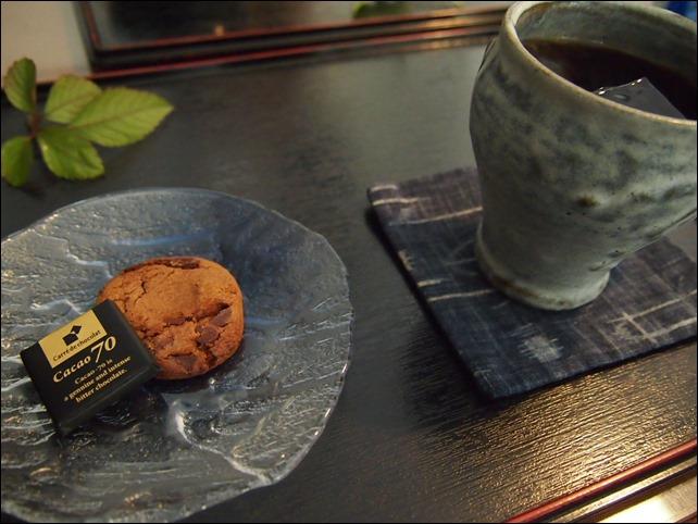 GOKURAKU亭のアイスコーヒー