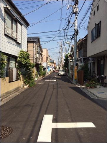 羽田の住宅街