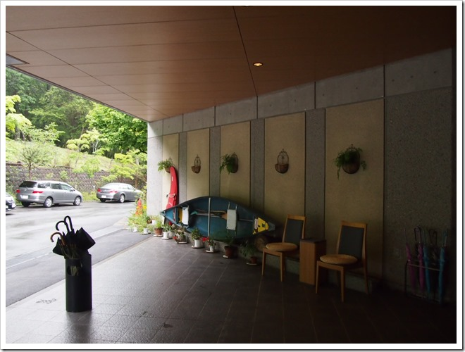 奥日光ホテル四季彩のエントランス拡大2