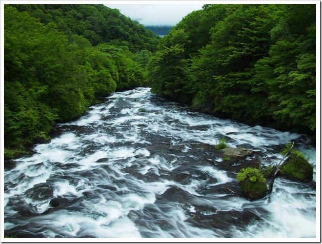 竜頭の滝上流1